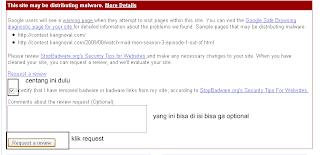 menghilangkan malware