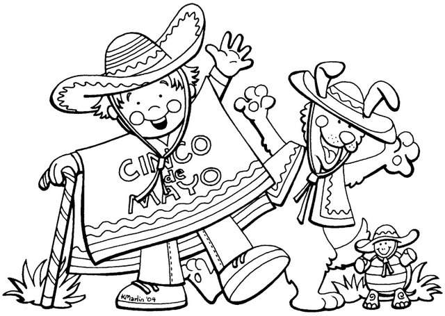 Cinco De Mayo Coloring Pages