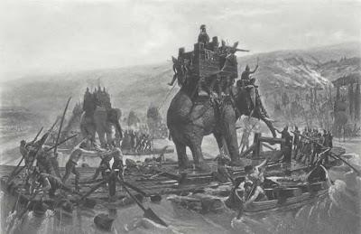Telugu de tubo de elefante indio