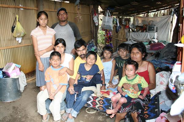 Melquiades & Mauricio con su Familia