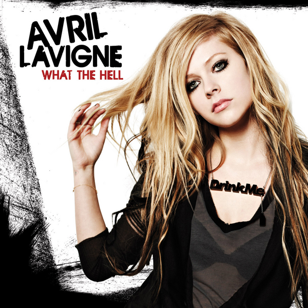 Avril Lavigne's new song 'What the Hell' Avril Lavigne Album Cover Is Just