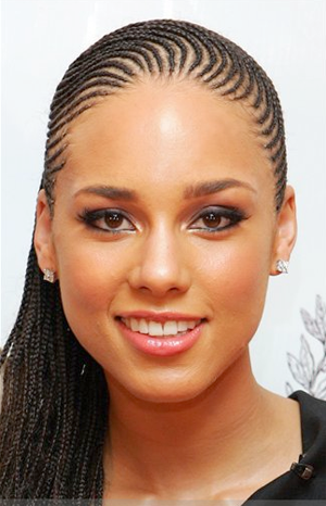 Had to throw A.K in there. I always loved her braids