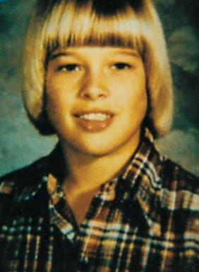 brad pitt childhood pic