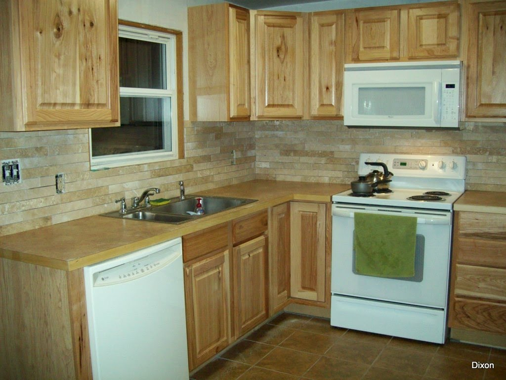 Top 28 Travistene Back Splash Completed Kitchens Kitchen Travertine Backsplash Light