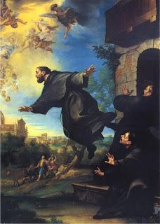 El santo de hoy...José de Cupertino, Santo Imagen+de+San+Jose+de+Cupertino