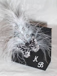 Black and White Sachet