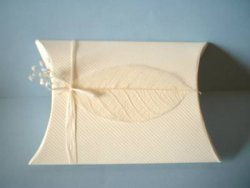 Pillow Box with Leaves