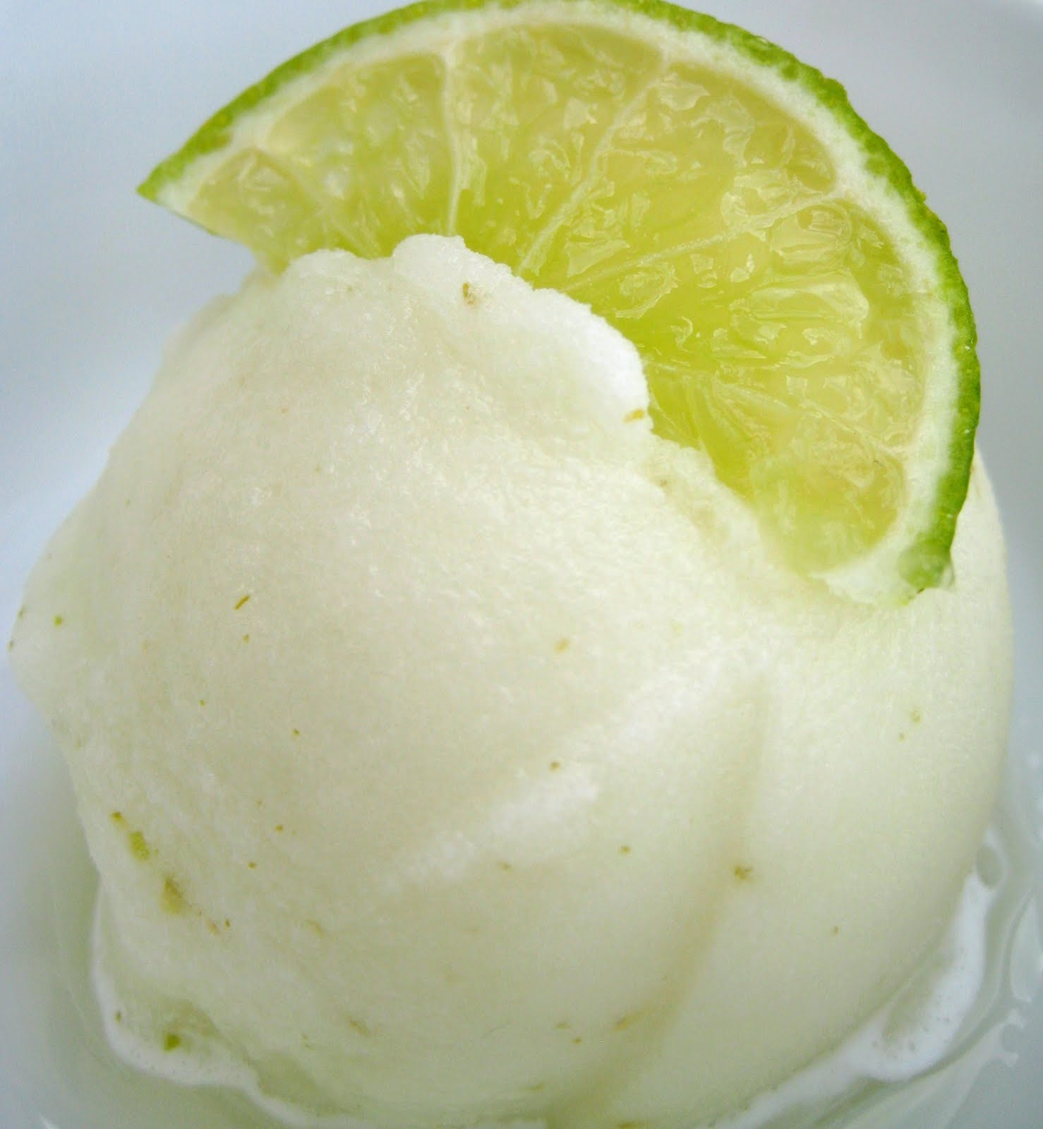 ... Kitchen: Smooth Homemade Lime Sorbet (Without An Ice Cream Maker