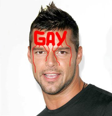 Ricky Martin has come out of the closet and admitted that he is gay.