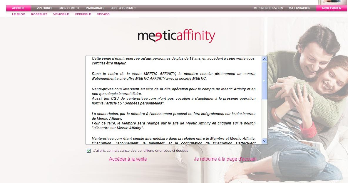 Rencontre meetic affinity