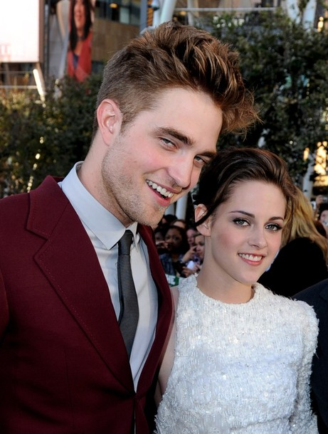robert pattinson and kristen stewart twilight premiere. girlfriend Robert Pattinson