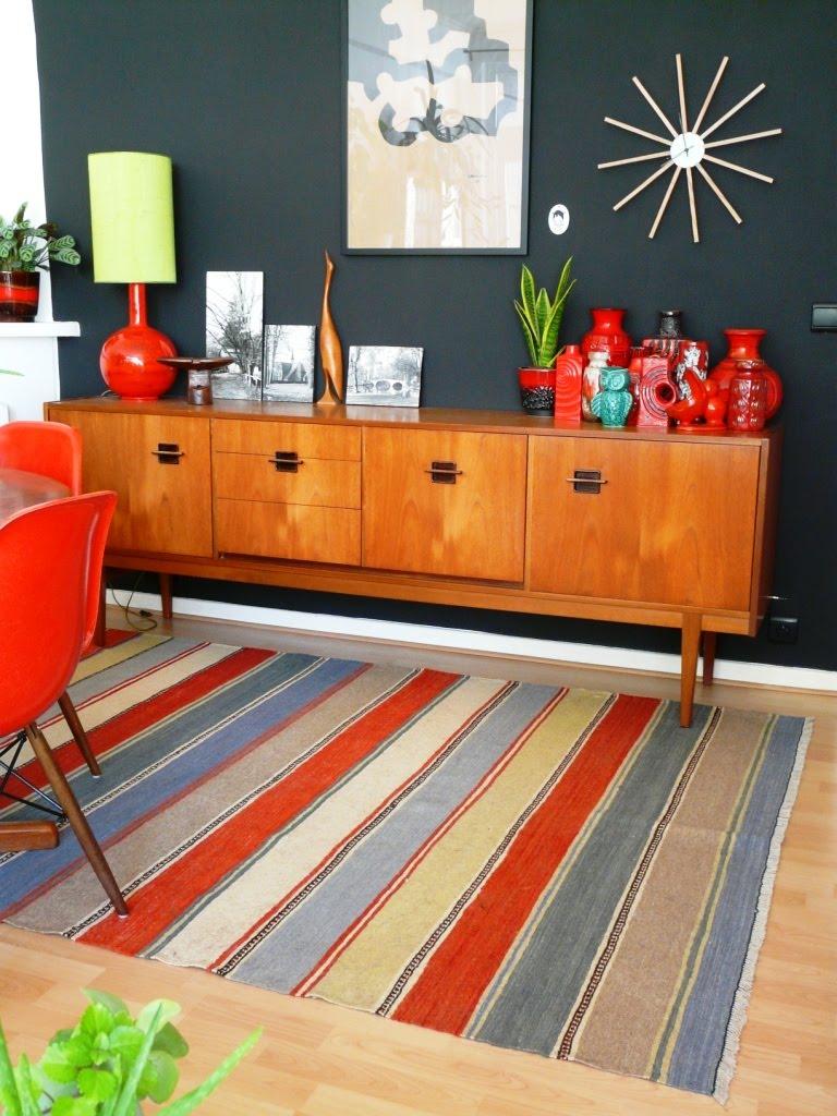 Ikea Kelim cat living room update