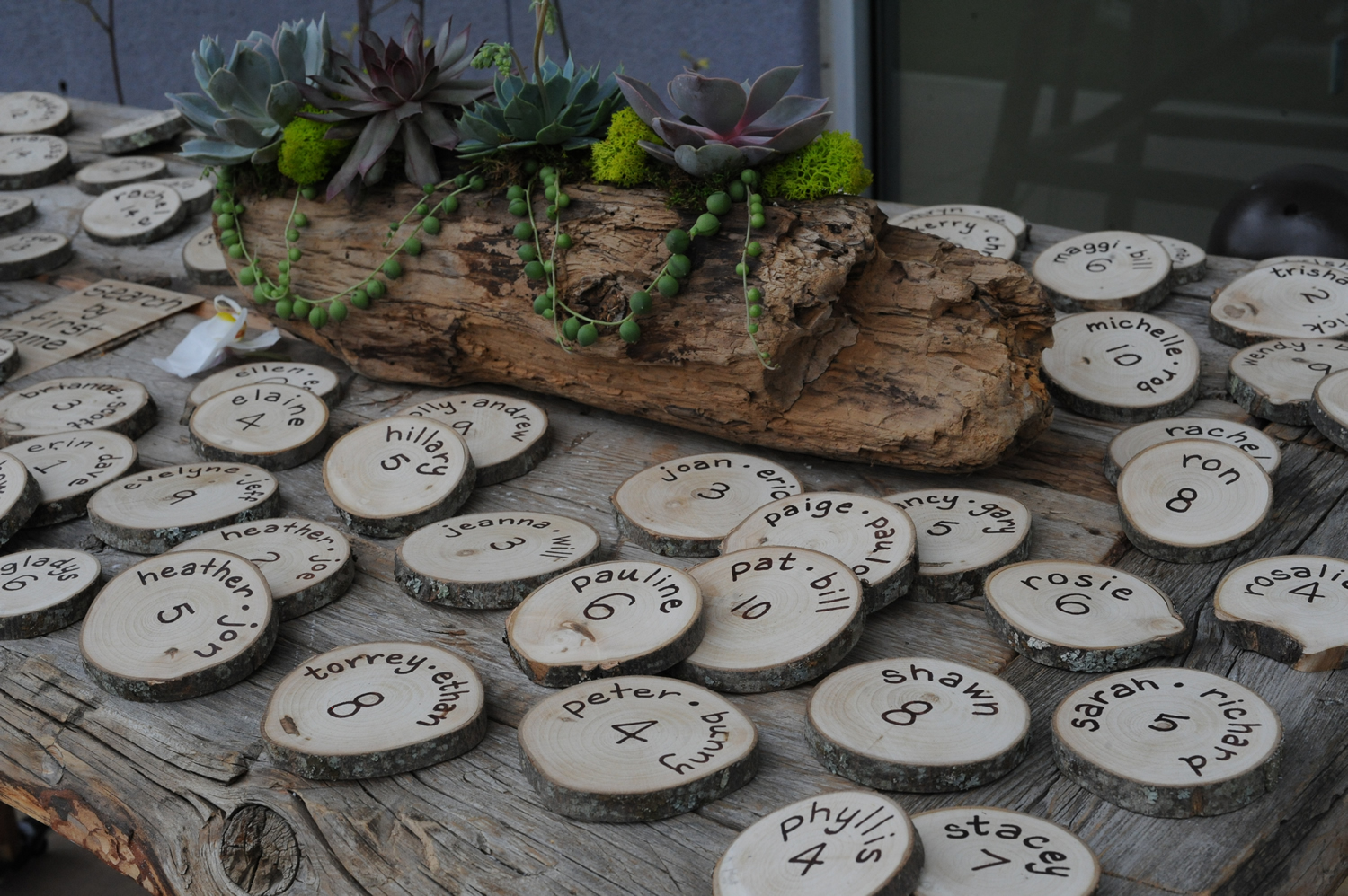 Rustic Wedding Favors On Pinterest