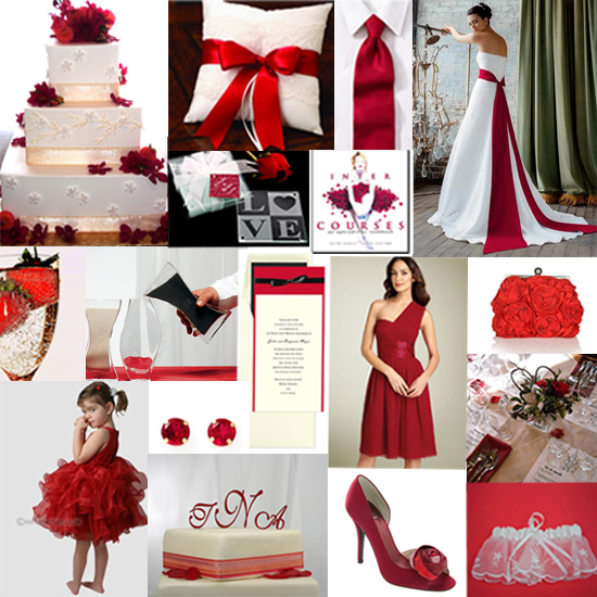 red and white wedding themes. Black Red White Wedding Themes