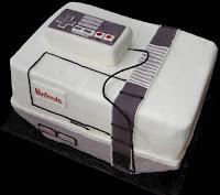 cake looks like Nintendo