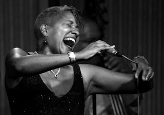 Jazz vocalist Rene Marie singing