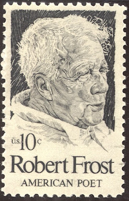 Robert Frost stamp