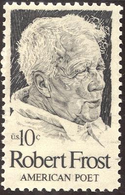 Robert Frost stamp