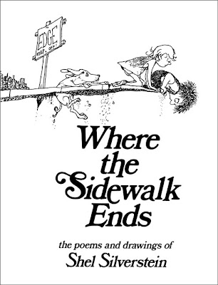 photo of book cover, where the sidewalk ends