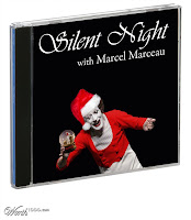 CD of Marcel Marceau christmas carols
