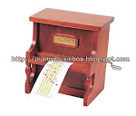 Wood music box that plays any song you want $88