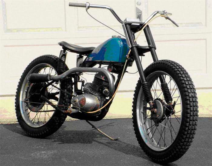 1954Harley DavidsonModel165 Sideburn