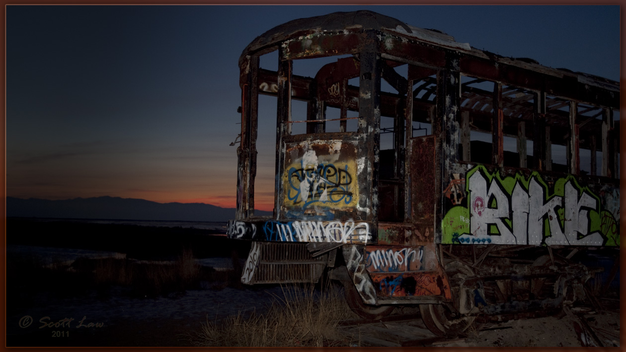 it's a trolley) car again,