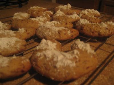 Almond horns recipe
