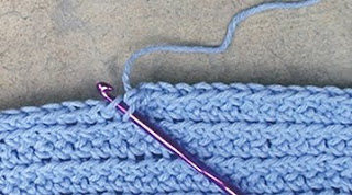 Amandas Happy Hearth: Avoiding Stiff Crochet