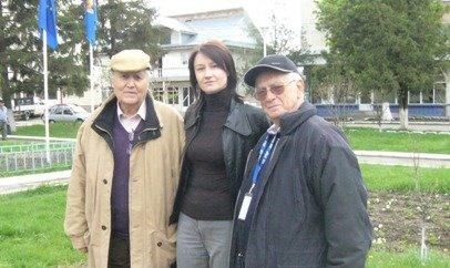 Lansare biografie la Adjud, aprilie 2008