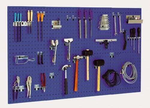 bott rangement d 39 outils sur panneaux perfo. Black Bedroom Furniture Sets. Home Design Ideas