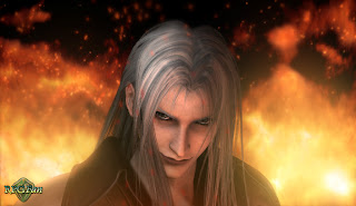 Sephiroth from Final Fantasy 7: Advent Children