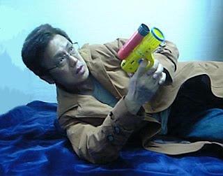 Akiyoshi in his AbbyShot Deckard Coat