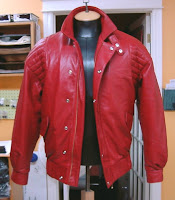 Kaneda Jacket from Akira, Collar Up