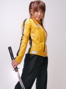 AbbyShot's Kill Bill Jacket, The Bride Jacket, is now on Sale