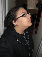 Customer Malea in her Organization XIII Inspired Kingdom Hearts Hoodie - Photo 2