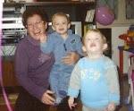עם איתי ונעמה בני שנתיים