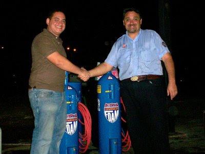 Sr Alonso Pinto y Osvaldo Sagues