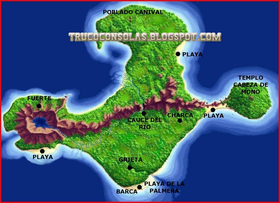 Mapa 2 The Secret of Monkey Island