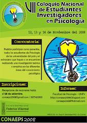 VII Coloquio Nacional de Estudiantes Investigadores en Psicología
