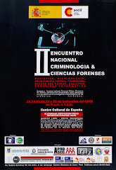 II Encuentro de Criminologa &amp; Ciencias Forenses