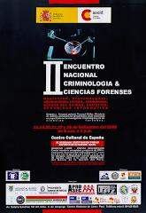 II Encuentro de Criminología & Ciencias Forenses