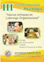III Coloquio Nacional de Psicología