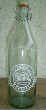 botella de gaseosa, ideal para envasar cerveza casera