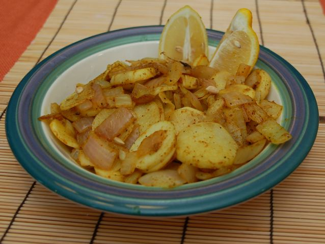 Curried Hakurei Turnips