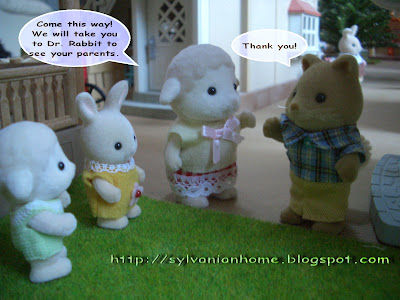 sylvanian families friends