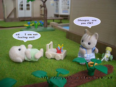 Sylvanian Families Story - Sheepie was faint.