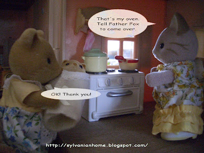 sylvanian families kitchen