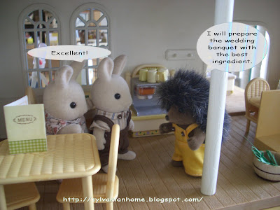 sylvanian families fancy restaurant
