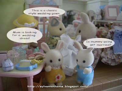 sylvanian families new dress